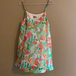 Cactus Mini Dress